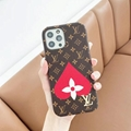 LV leather phone case for iphone 12 pro max 11 pro max xs max 7 8