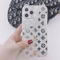 Wholesale Rabbit ears Clear LV phone case for iphone 12 pro max 11 pro max xs xr