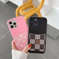 Louis Vuitton LV phone case with card holder for iphone 12 pro max 11 pro max xs