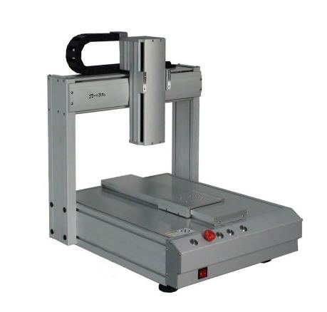 双平台自动点胶机 2