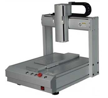 双平台自动点胶机 3