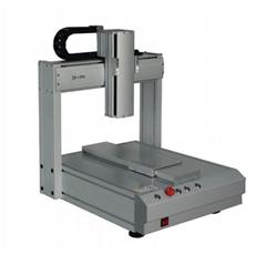 桌面型四軸畫膠機