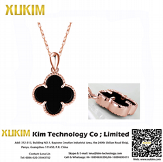 Xukim KSN002 Latest Gold Necklace Designs 2017