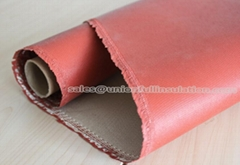 High Temperature Resistance 750g High  Silica Coated Fiberglass Fabrics Cloth