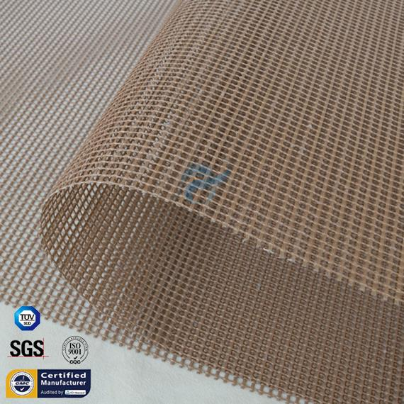 PTFE Fiberglass Open Mesh Conveyor Belt 4*4 2