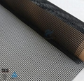 Teflon Conveyor Belt PTFE Coated Fiberglass Open Mesh 4*4  3