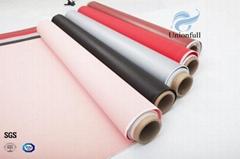 Fireproof Silicone Coated Fiberglass Fabric Plain Weave
