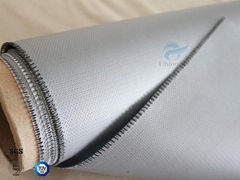 Waterproof 40/40g Silicone Coated Fiberglass Fabric High temperature resistance