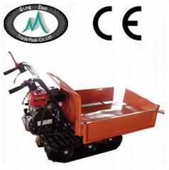 Brand 300kg load mini dumper crawler machine with CE