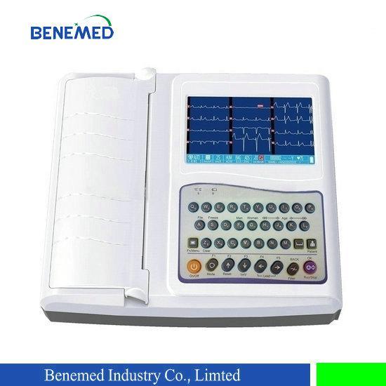 hIight quality portable digital 12 channel 12 lead ECG machine