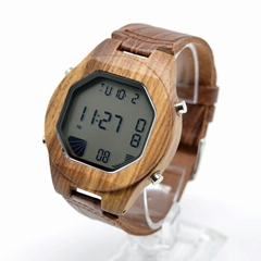 Digital wood watches from EcVendor