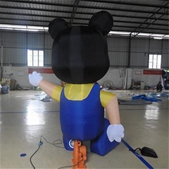 Inflatable Mickey Mouse Model