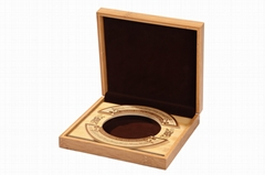 Natural Flat Lacquered Gift Box and Wooden Tea Storage Packaging