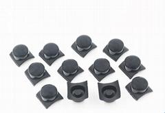 ks硅胶手电筒开关帽硅胶按钮硅胶配件