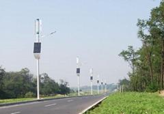 拓又達100W 風光互補路燈(雙向四車道)