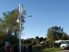 拓又達60W 風光互補路燈(雙向二車道)