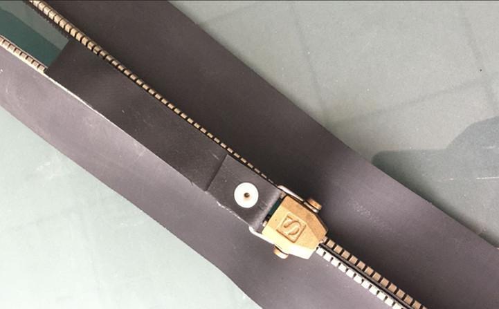 SZIP Metalproof Sealed Waterproof Metal Zipper(8TZ CR Airtight Zipper & Waterpro 2