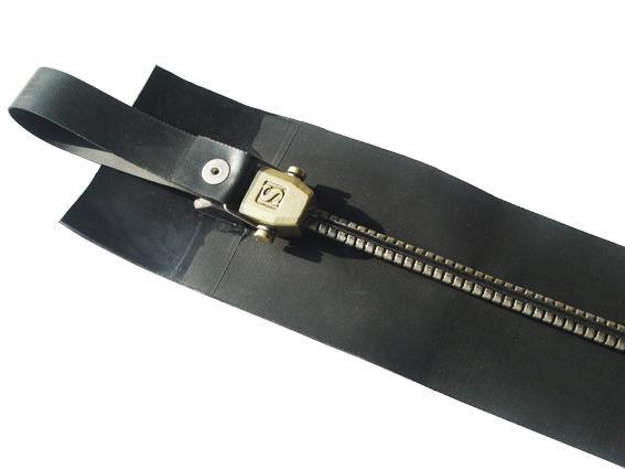 SZIP Metalproof Sealed Waterproof Metal Zipper(8TZ CR Airtight Zipper & Waterpro 5