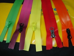 SZIP Chain Nylon waterproof zippers