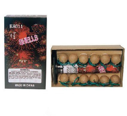 Chinese Liuyang Factory Display Shell Fireworks 5