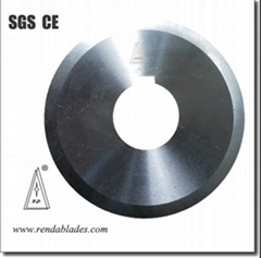 Tube Pipe Circular Slitting Cutter Knife /Blade for Splitting Machine