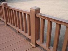 厂家直供  绿宝塑木护栏