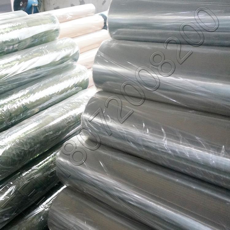 供應彩色磨砂半透明壓延PVC塑料薄膜 4