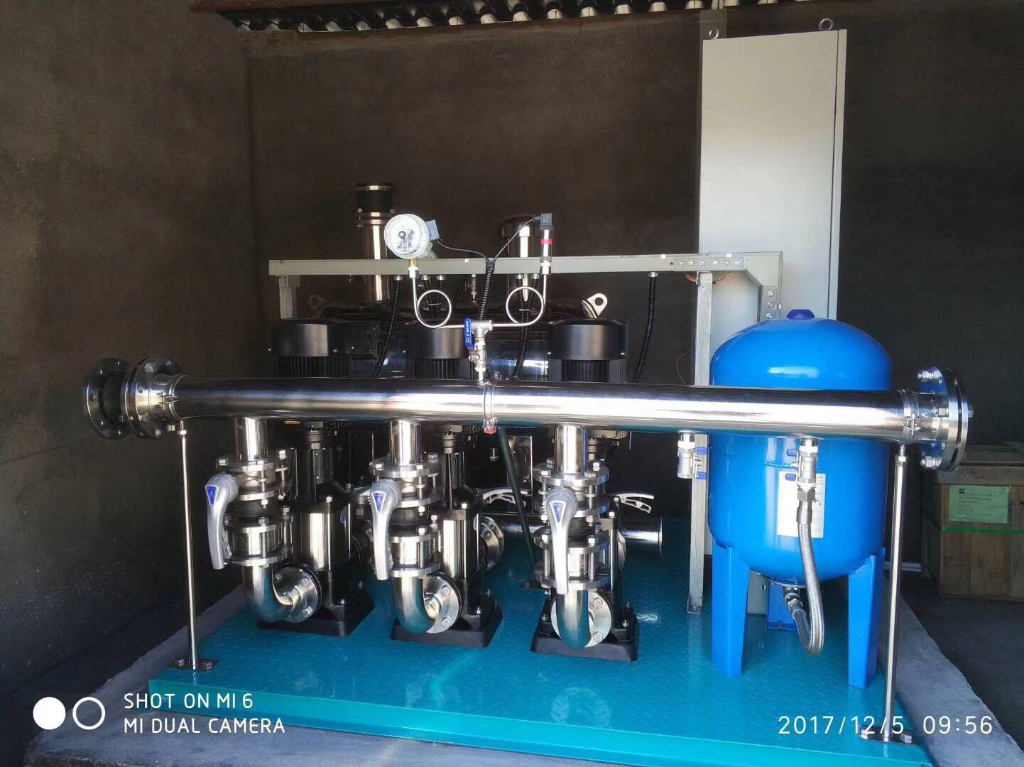 小区供水改造智能供水水泵 3