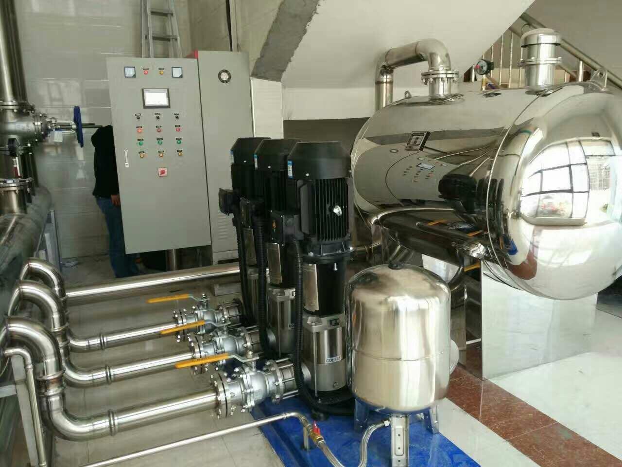 小区供水改造智能供水水泵 4