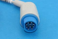 西門子血氧連接器3/5導心電圖連接器有創血壓連接器