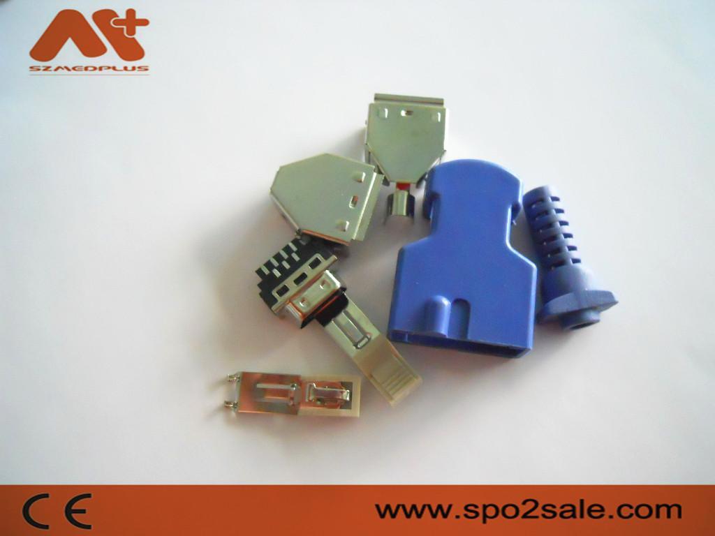 福田,萘普特DOC-10 血氧探头连接器 4