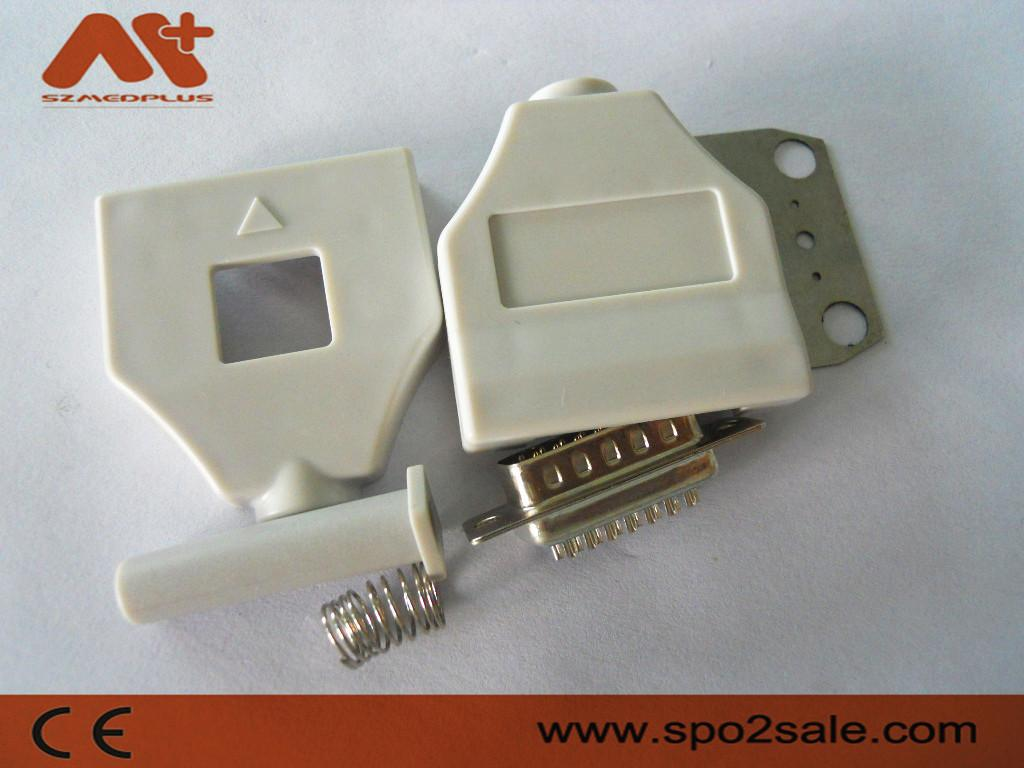 福田10导心电图连接器 1