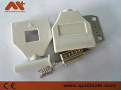 Fukuda 10-lead EKG connector