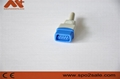 GE-trusignal DB9血氧探頭連接器插座 5