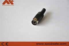 席勒7针血氧探头连接器