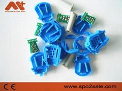 GE Oxytip 8針血氧連接器插座