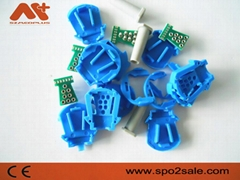 GE Oxytip 8针血氧连接器插座