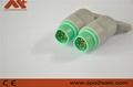 西门子血氧连接器3/5导心电图连接器有创血压连接器