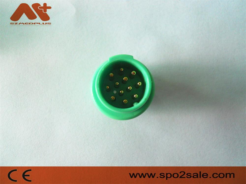 美能12針心電圖連接器 1