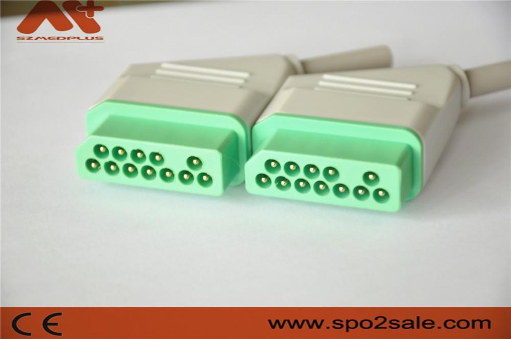 日本光電心電圖連接器 5