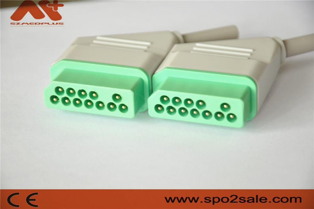 日本光電心電圖連接器 6