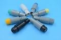 塑料頭2針單定位推拉自鎖連接器 3