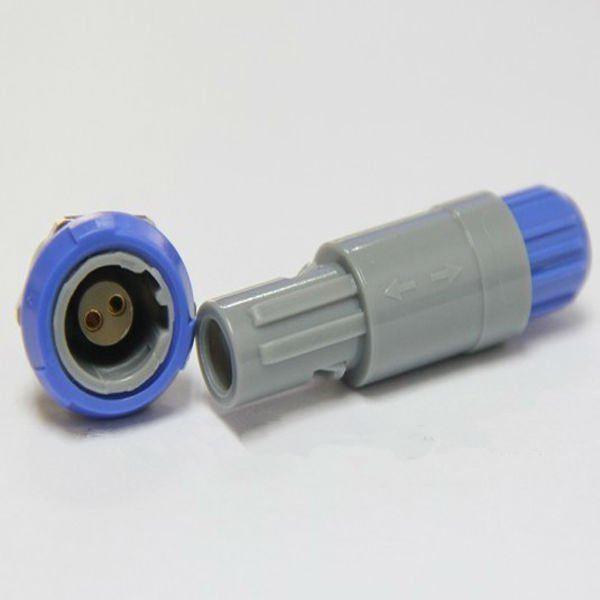 2針40度角塑料頭推拉自鎖連接器 1