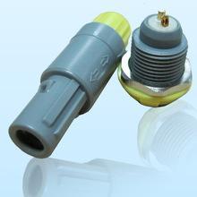 2针40度角塑料头推拉自锁连接器 3