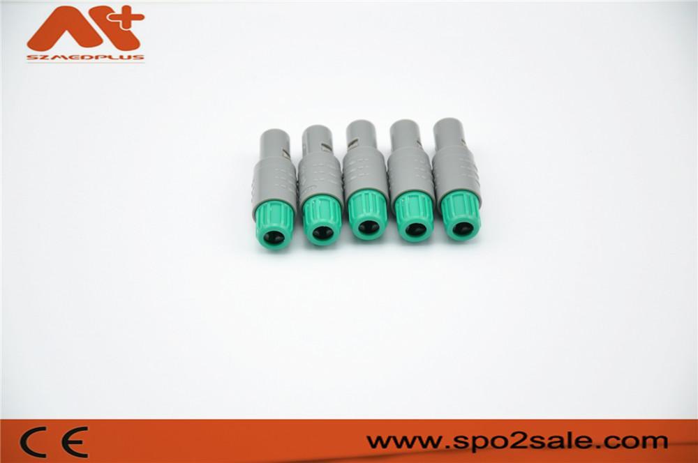 单定位5针塑料头推拉自锁连接器 4