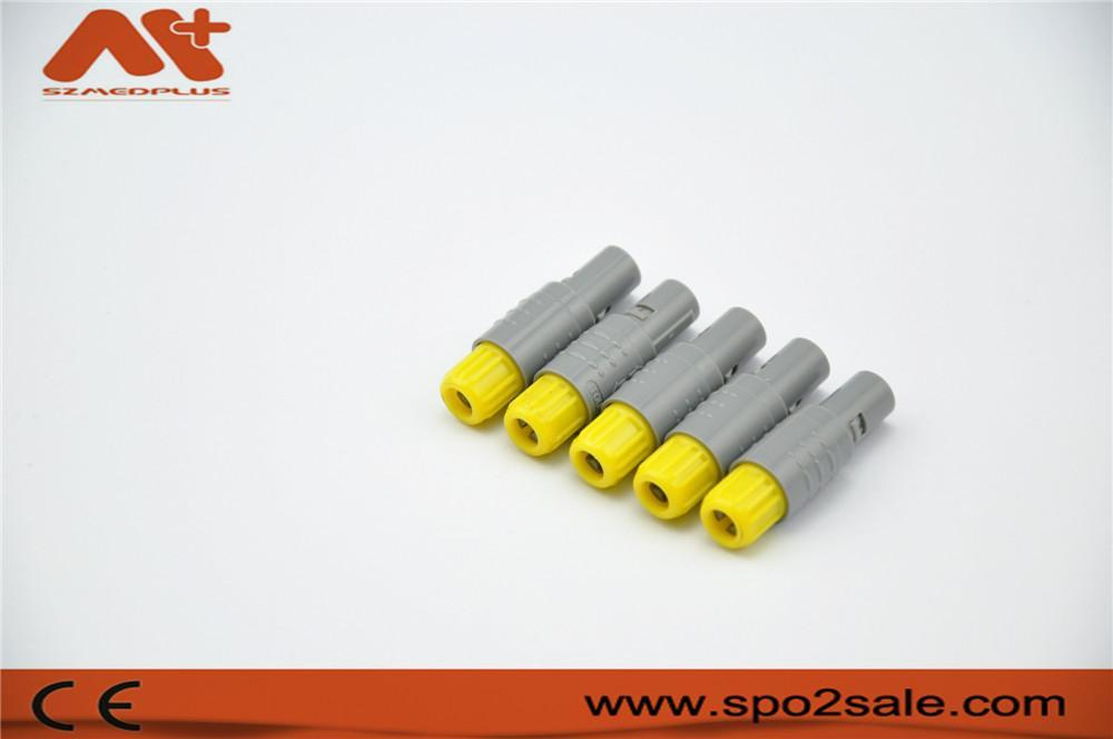 单定位5针塑料头推拉自锁连接器 5