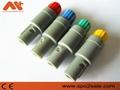 塑料頭推拉自鎖連接器醫療連接器單定位6針 7