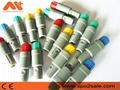 7針塑料頭推拉自鎖連接器醫療連接器雙定位40度 6