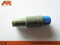 Single notch 8pin plastic Push-pull self-locking connector 4