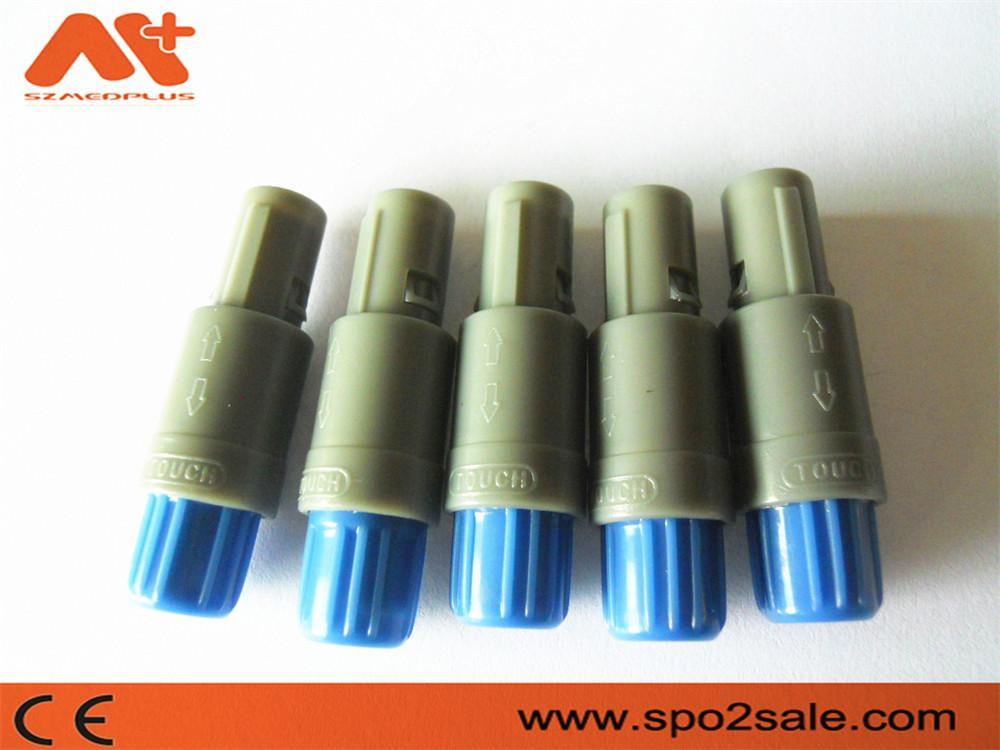 單定位8針塑料頭推拉自鎖連接器 5